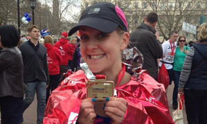 London Marathon runner among our ranks – Kelly Bancroft, Programme Manager for Reynolds