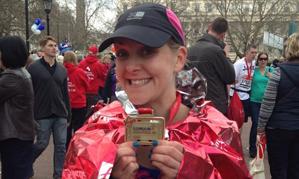 London Marathon runner among our ranks – Kelly Bancroft, Programme Manager for Reynolds