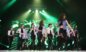 Reynolds Performing Arts return for performance at 'Move it' 2014