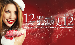£12 for 12 days Spa and Gym Membership