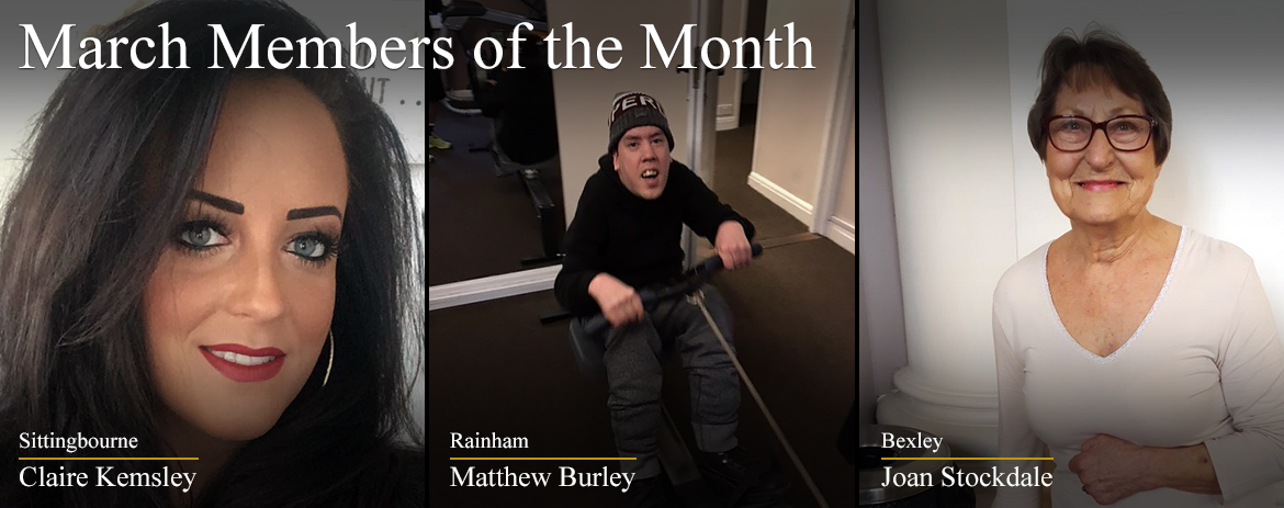 March Members of the Month