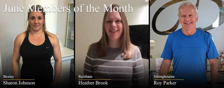 June Members of the Month