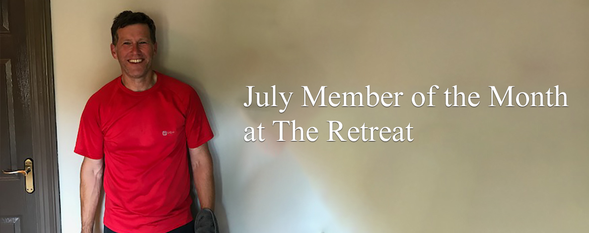July Member of the Month at The Retreat