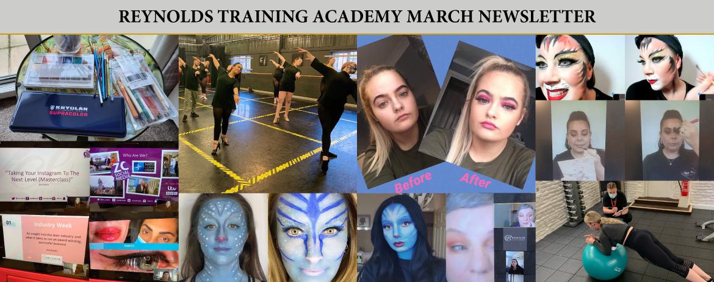 Reynolds Training Academy March Newsletter