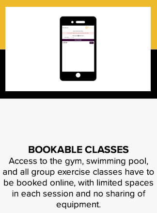 Bookable classes