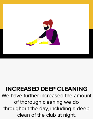 Increase deep cleaning