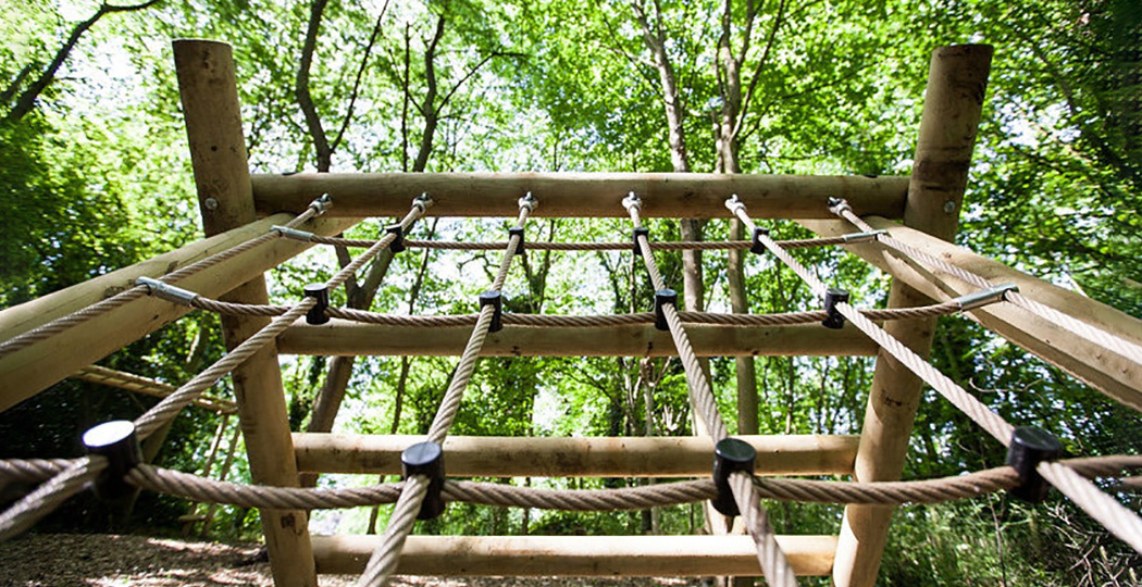 Assault Course Rope Ladder