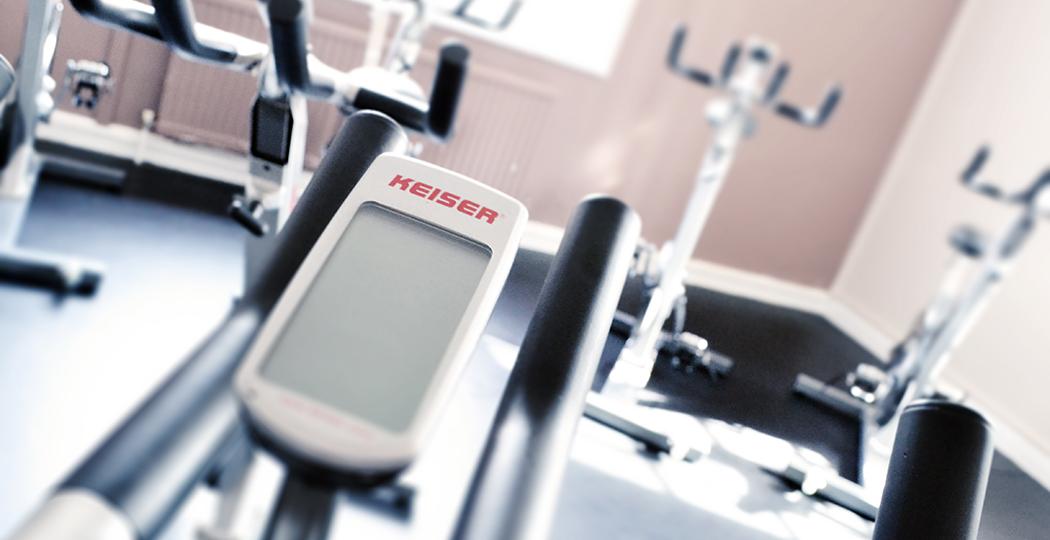Rainham Gym Keiser Cycle closeup