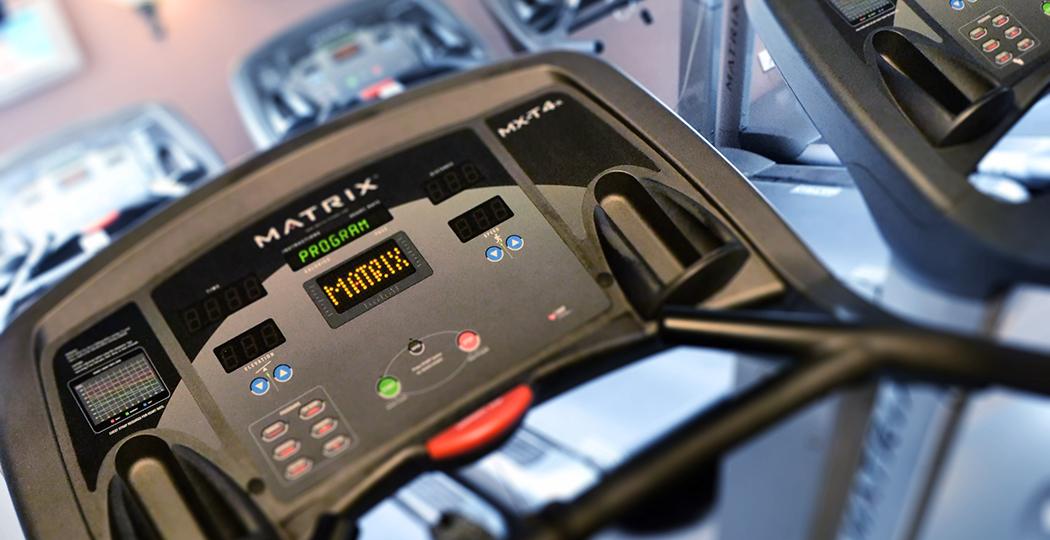 Rainham Gym Matrix Running Machine
