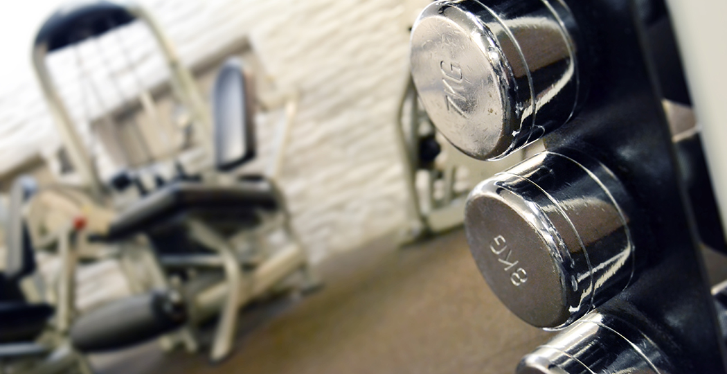 Rainham Gym Dumbbells
