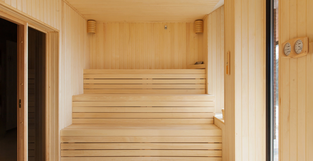 Retreat Sauna Bench