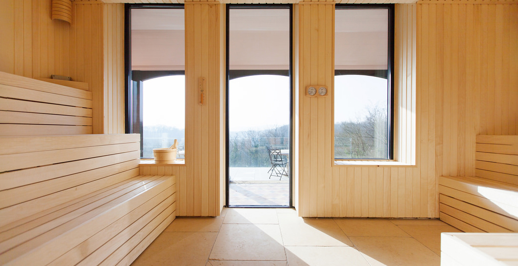 Retreat Sauna Windows